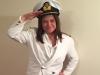 Naval Commander Lady - AUTHENTIC VINTAGE UNIFORM - $60
