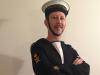 Navy Parade Sailor - AUTHENTIC VINTAGE UNIFORM - $50