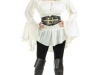 Sexy White Pirate Top with Corset Belt.jpg